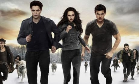 Robert Pattinson, Kristen Stewart Taylor Lautner Breaking Dawn Part 2