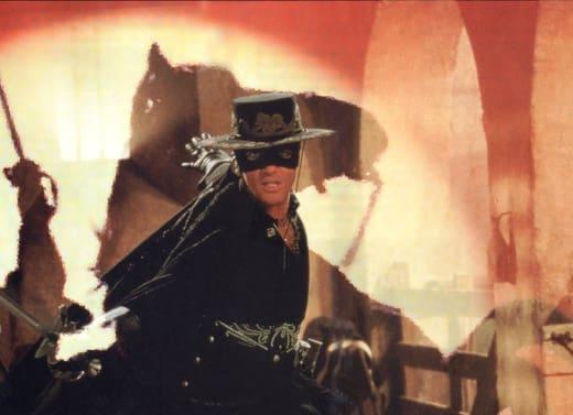 Antonio Banderas is Zorro