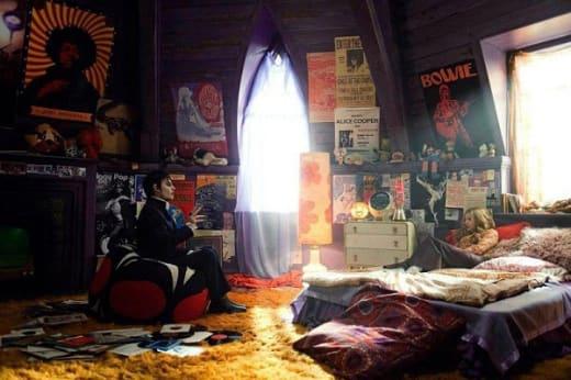 Chloe Moretz and Johnny Depp in Dark Shadows