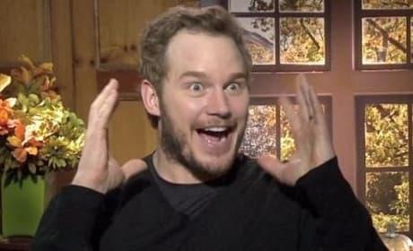 "Delivery Man: Chris Pratt Dreams of Giving ""Braveheart Type Speech!"""