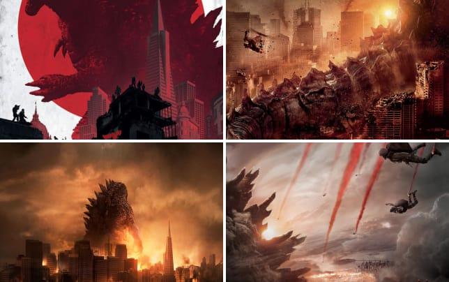 Godzilla imax poster