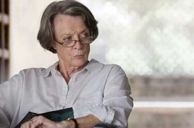Maggie Smith The Best Exotic Marigold Hotel