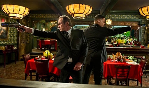 Tommy Lee Jones and Will Smith Star in Men in Black 3
