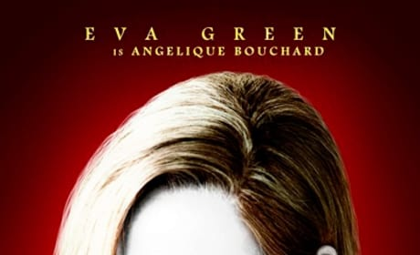Dark Shadows Eva Green Character Poster