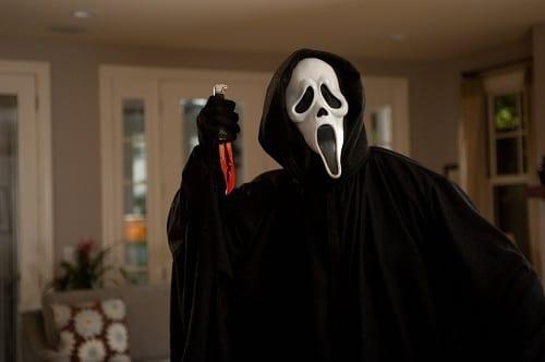 Ghostface in Scream 4