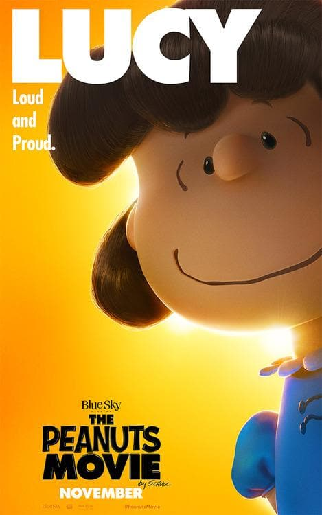 The Peanuts Movie Lucy Poster