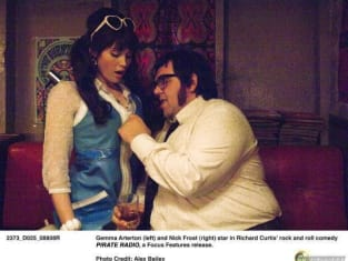 Nick Frost geting frisky