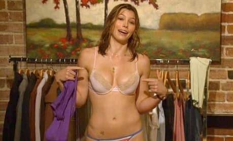 Jessica Biel Has Sexy Underwear
