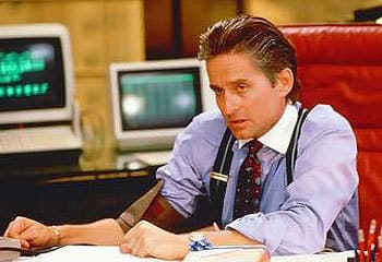 Gordon Gekko from Wall Street