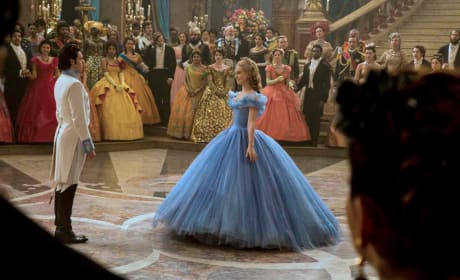 Lily James Richard Madden Cinderella