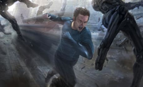 Avengers Age of Ultron Quicksilver Concept Art