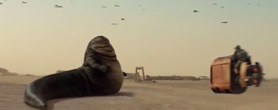 Star Wars The Force Awakens Jabba the Hut