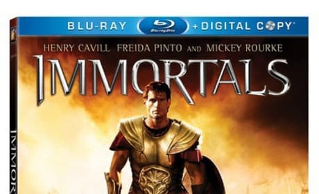 The Immortals Blu-Ray