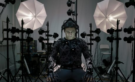 Star Wars The Force Awakens: First Photo of Andy Serkis!