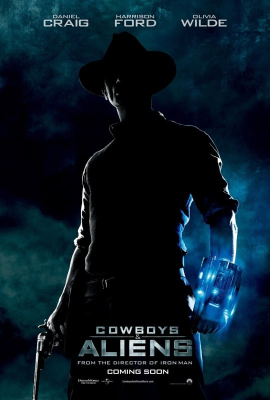 Cowboys And Aliens International Teaser Poster