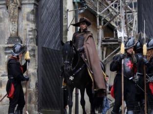 Rochefort on Horseback
