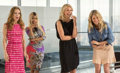 The Other Woman Leslie Mann Cameron Diaz Nicki Minaj Kate Upton