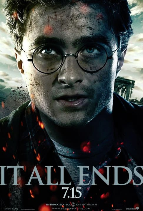 Harry Potter and the Deathly Hallows Part 2 Harry Poster