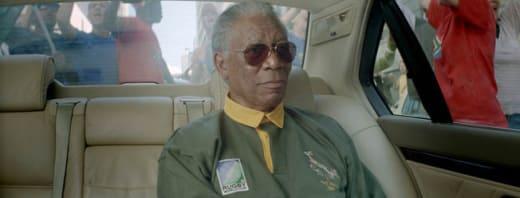 Mandela- Cool Dude in a Luxury Car