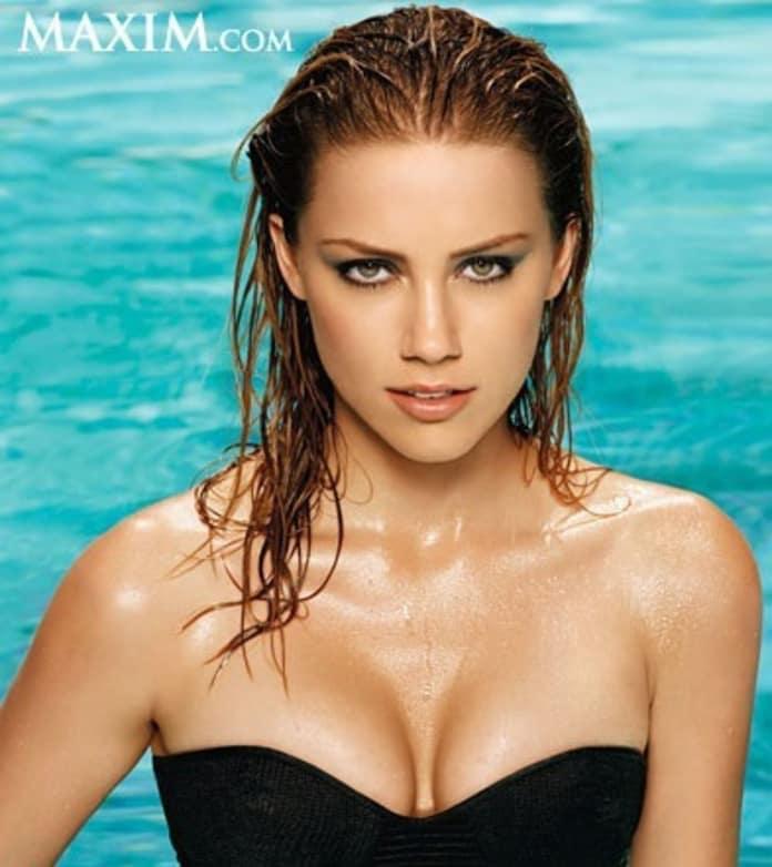 Amber Heard Poses For Maxim Talks Pineapple Express Movie Fanatic