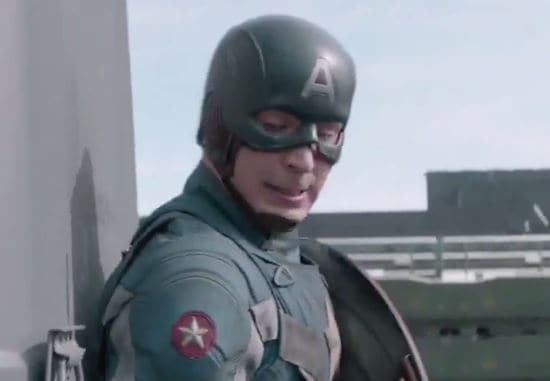 Captain America The Winter Soldier Chris Evans As Cap