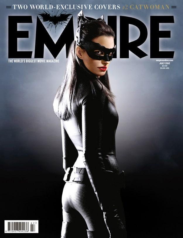 Dark Knight Rises Empire Cover: Catwoman