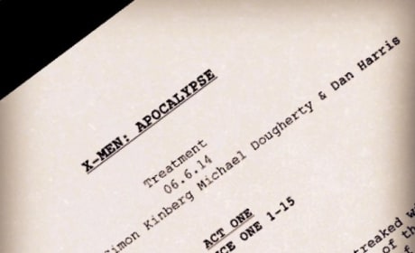 X-Men Apocalypse: Bryan Singer Teases Script Treatment
