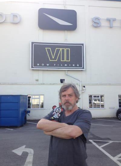 Star Wars: Episode VII Mark Hamill Twitpic