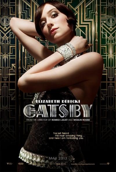 Elizabeth Debicki Great Gatsby Poster