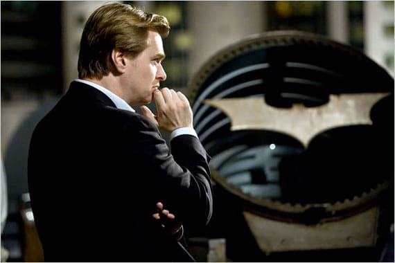 Christopher Nolan Bat Signal