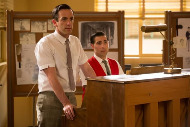 Saving Mr. Banks BJ Novak Jason Schwartzman