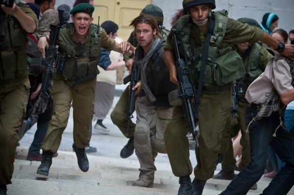 World War Z Brad Pitt Daniella Kertesz