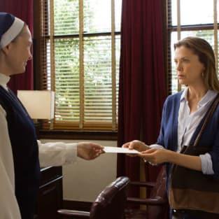 Karen Speaks to a Nun