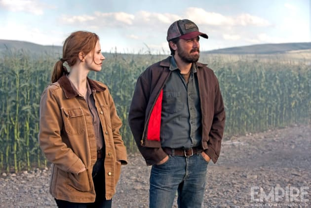 Jessica Chastain Tries to Survive