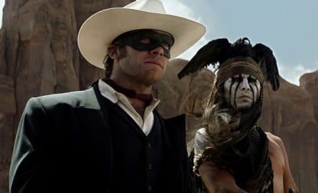 The Lone Ranger Review: Disney Does Hi-Yo Silver!