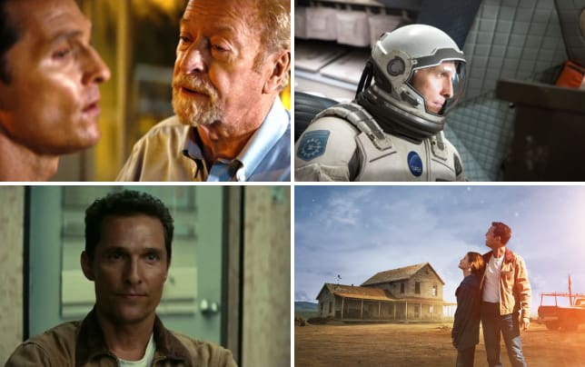 Interstellar michael caine matthew mcconaughey