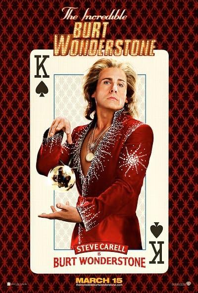Steve Carell The Incredible Burt Wonderstone Poster