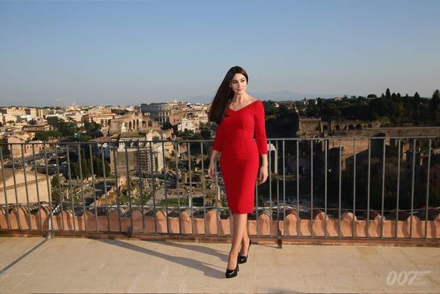 Spectre Monica Bellucci Rome Photo Call
