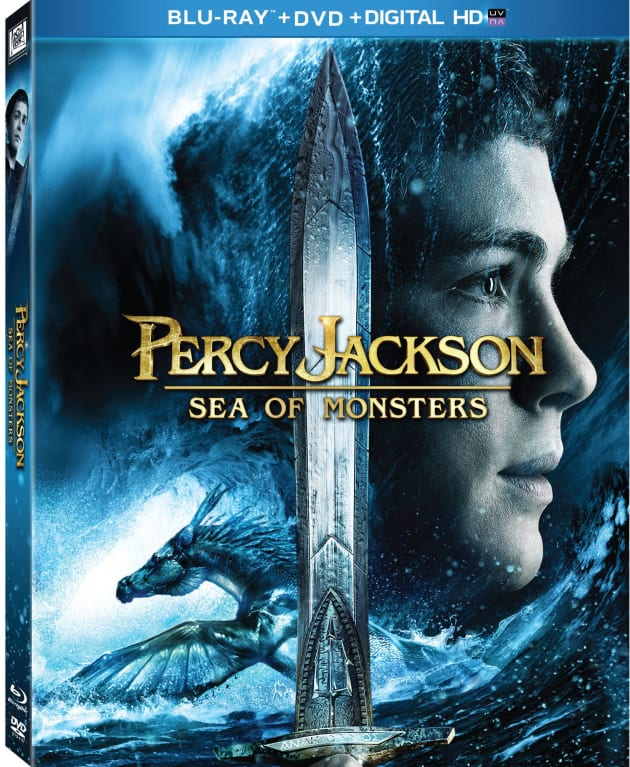 Percy Jackson Sea of Monsters DVD