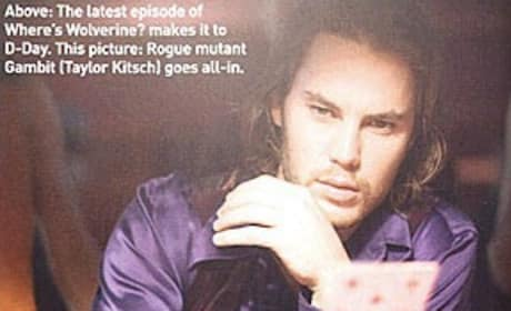 Taylor Kitsch is Gambit
