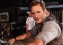 """Jurassic World Behind the Scenes: Chris Pratt Asks You to """"Kick Me in the Nuts"""""""