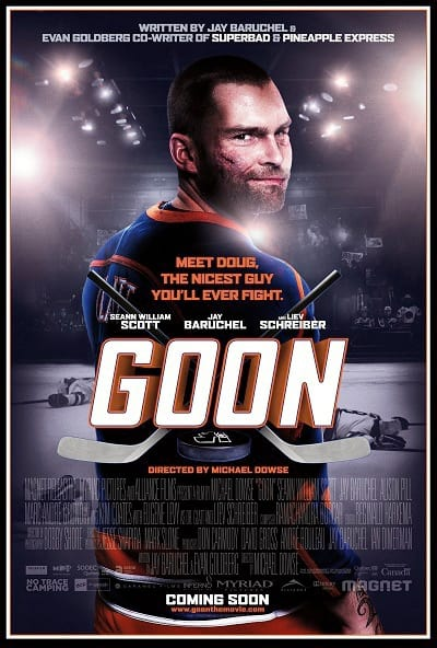 Seann William Scott Stars in Goon Poster