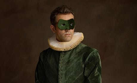Green Lantern As Renaissance Painting