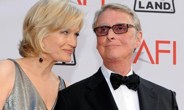 Mike Nichols Diane Sawyer Photo