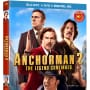 Anchorman 2 Target Blu-Ray Cover