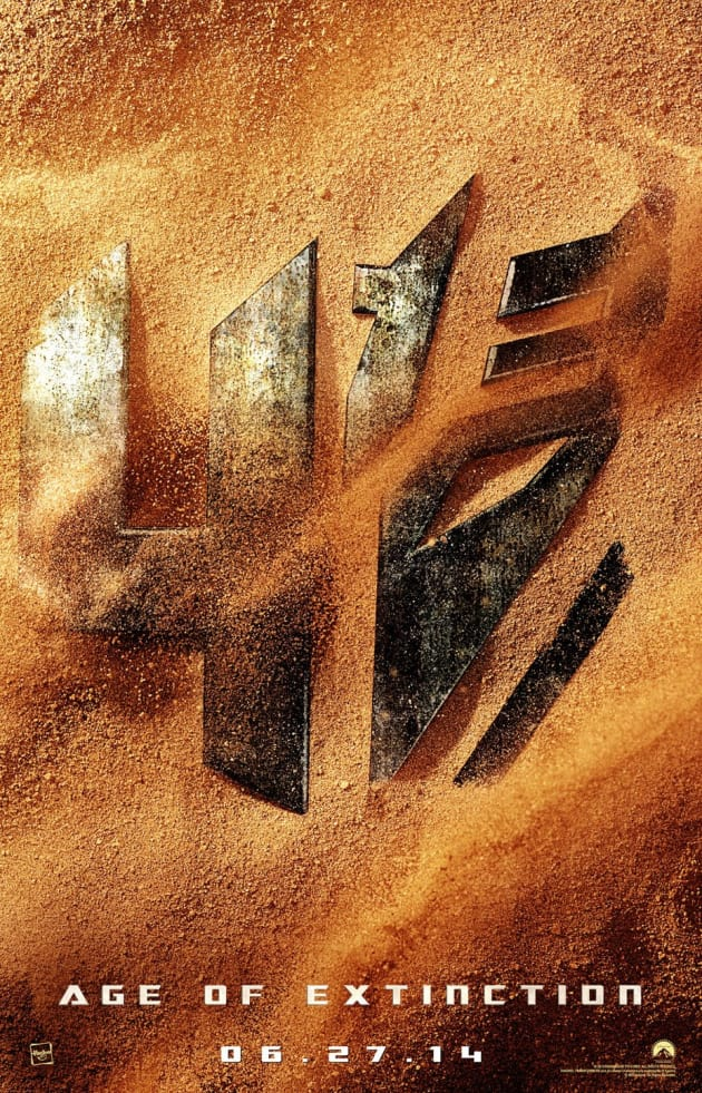 Transformers Age of Extinction Teaser Poster