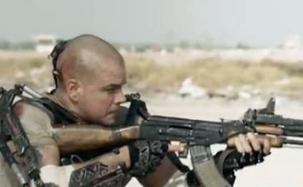 Matt Damon Elysium Clip