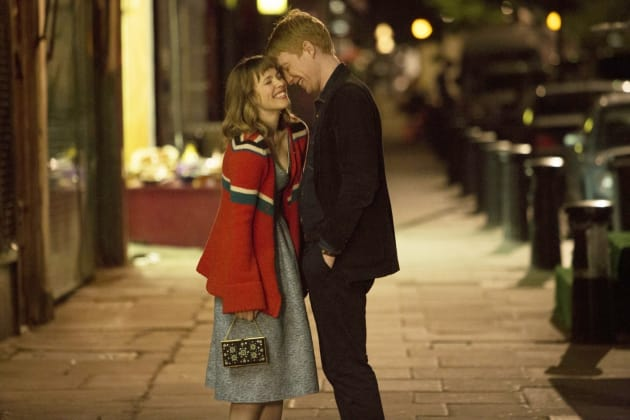 About Time Domhnall Gleeson and Rachel McAdams