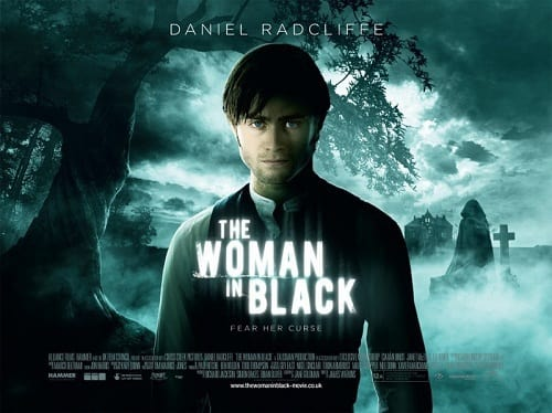 Woman in Black Quad Poster