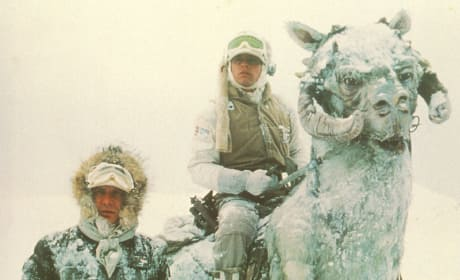 Empire Strikes Back Harrison Ford Mark Hamill